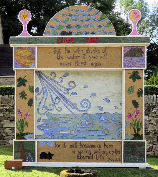 Eyam 2017 - Town End Well Dressing