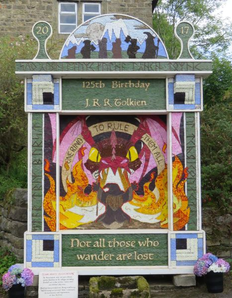 Eyam 2017 - Town Head Well Dressing