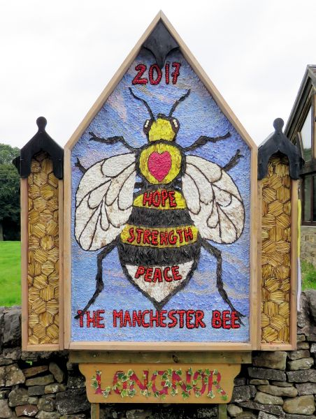 Longnor 2017 - Village Well Dressing