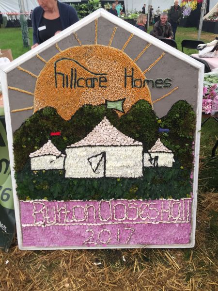 Bakewell 2017 - Bakewell Show Well Dressing