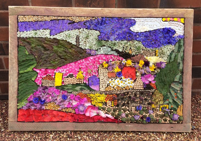 Sheffield Manor Lodge 2017 - Well Dressing