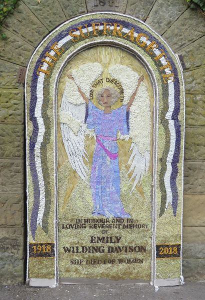 Rowsley 2018 - Main Well Dressing