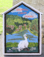 Creswell Junior School Well Dressing