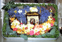 St Bartholomew's Church Flower Festival Well Dressing