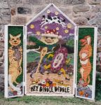 Ashover Primary School Well Dressing