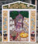 Stretton-cum-Handley School Well Dressing