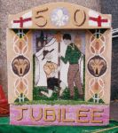 Scouts and Guides Well Dressing
