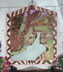St Michael and All Angels Church Flower Festival Well Dressing