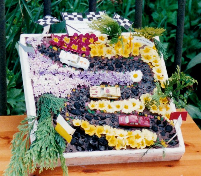 Newborough 1999 - Green Farm Well Dressing