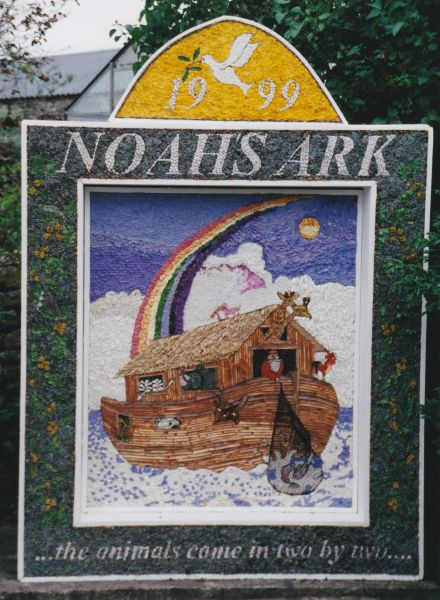 Monyash 1999 - Village Well Dressing