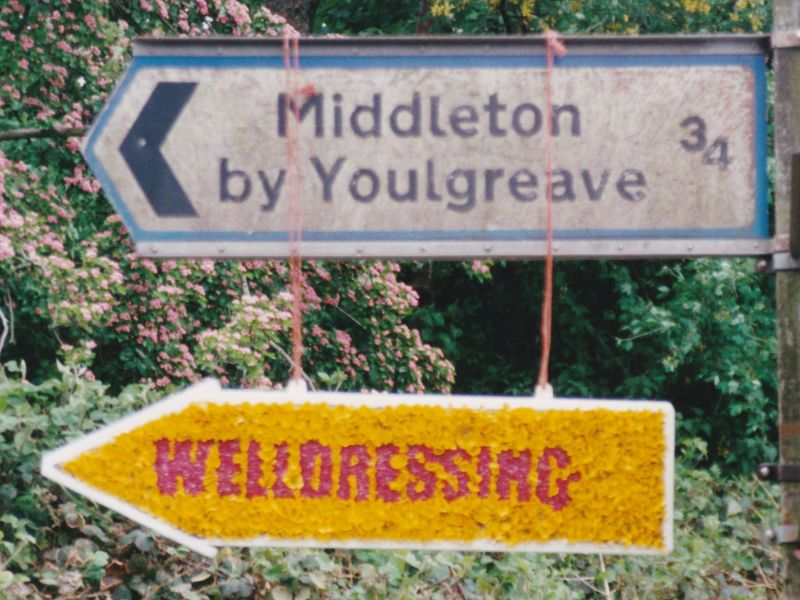 Middleton by Youlgrave 1999 - Fingerboard, east of village