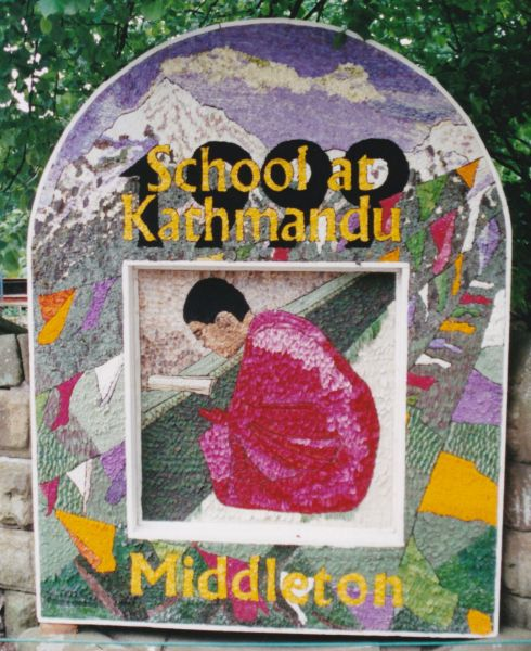Middleton by Youlgrave 1999 - Village Well Dressing