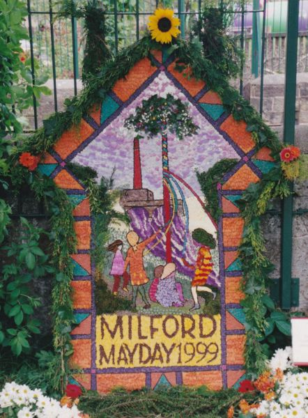 Milford 1999 - The Community and Milford Primary School Well Dressing