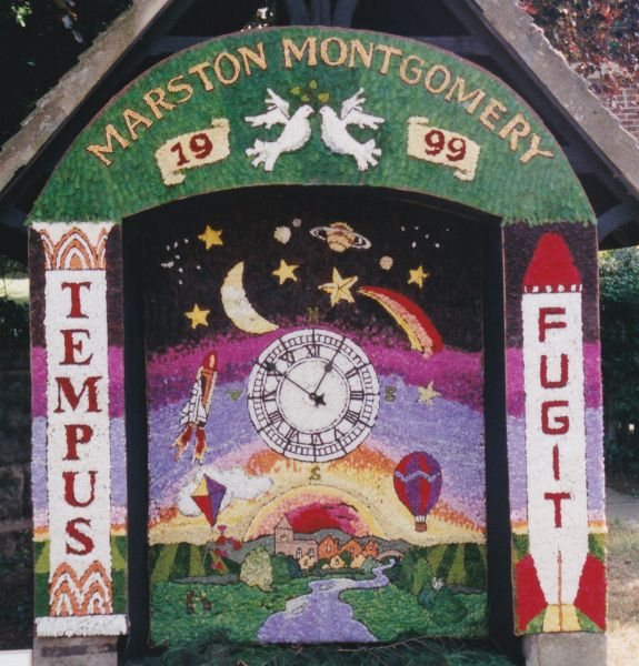 Marston Montgomery 1999 - Village Well Dressing