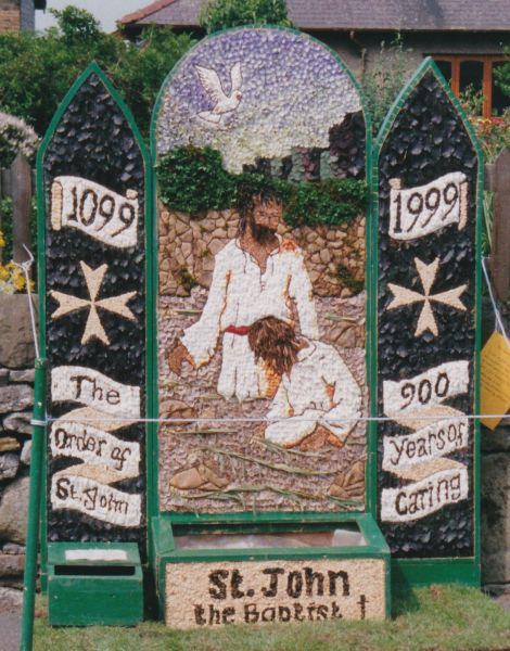 Hope 1999 - Edale Road Well Dressing