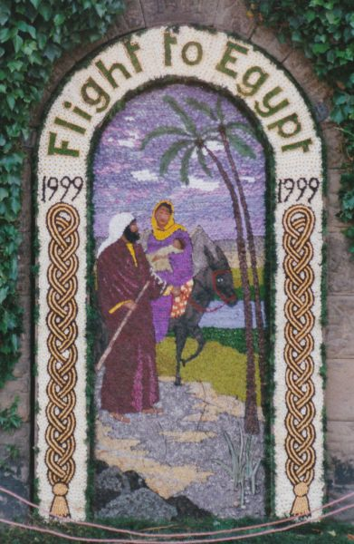 Rowsley 1999 - Main Well Dressing