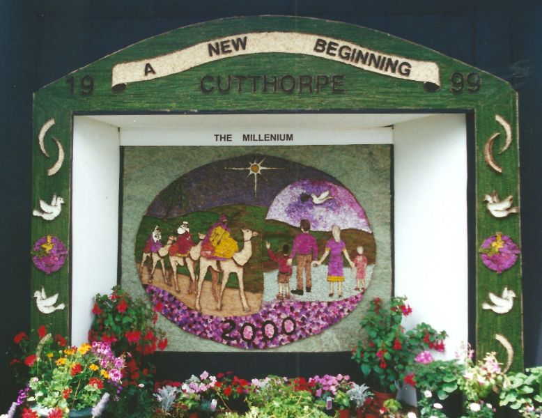 Cutthorpe 1999 - Village Well Dressing