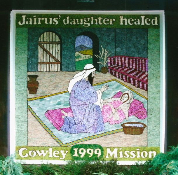 Cowley 1999 - Mission Chapel Well Dressing