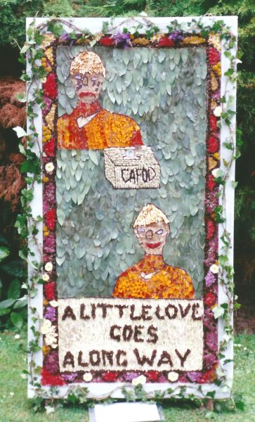Belper 1999 - St Elizabeth's RC Primary School Well Dressing