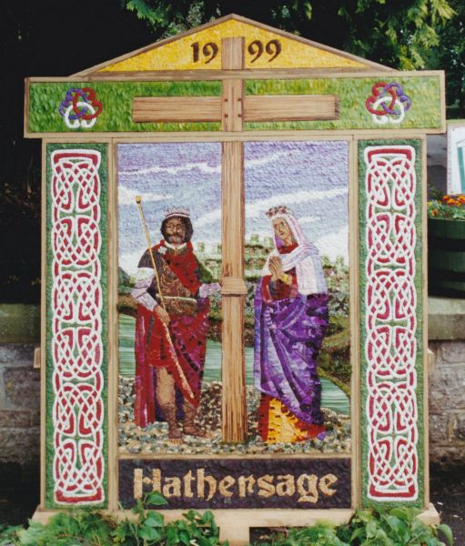 Hathersage 1999 - Methodist Church Well Dressing