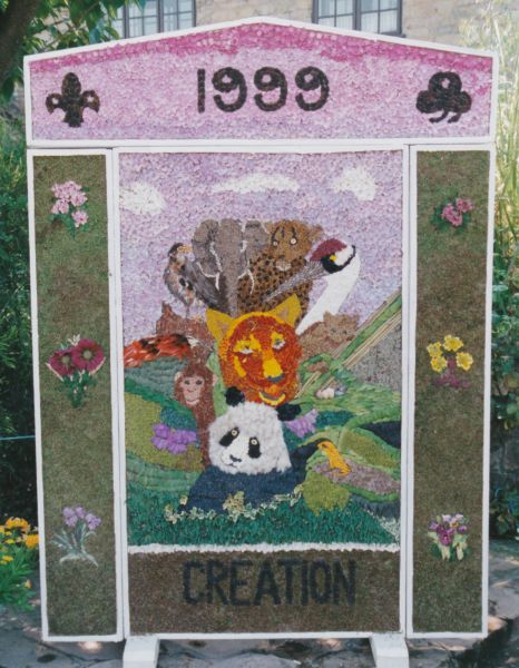 Whitwell 1999 - Village Square Well Dressing