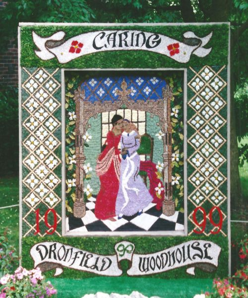 Dronfield Woodhouse 1999 - Carr Lane Well Dressing